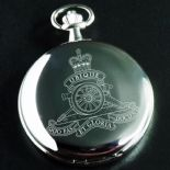 Military Crest Pocket Watch Quartz , ref MCCW